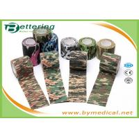 Army Camping Hunting Camouflage Pattern Printing Non Woven Self Adhesive Elastic Bandage