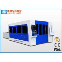 Buy cheap IPG Raycus Coherent 5mm Laser Sheet Metal Cutter with Pallet Working Table product