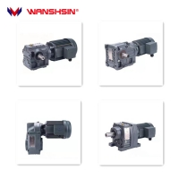 Buy cheap Wanshsin Grey K Series Helical Transmission Speed Reducer Spur Electric Bevel Gear Motor for Logistics product