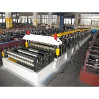 Buy quality Double Layer Corrugated Roll Forming Machine 5.5KW By Chain at wholesale prices