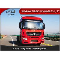Buy cheap 420 Horse Power Tractor Head Trucks 6 X 4 Drive Diesel Fuel Type product