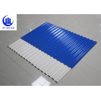 Buy cheap Custom Corrugated Plastic Roofing Sheets Suppliers Matte Or Glazed Surface from wholesalers