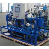 Buy cheap Custom Centrifugal Hfo Purifier Separator , Lube Oil Purification System product