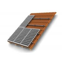 Buy cheap HDG Solar Panel Roof Mounting Systems Customized Color Stainless Steel 304 Home Building product