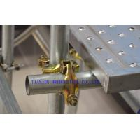 Buy cheap Q345 Galvanized Steel Scaffold Tube , Construction Scaffolding Pipe OD 48.3MM product