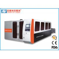 Buy cheap Max 10mm Stainless Steel Fiber Laser Cutting Machine for Electrical Cabinet Sheet Metal product