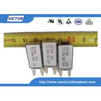 Buy cheap 6A 5A 120Vac 24VdcThermal Fuse Color Code Normally Closed Thermal Protector product