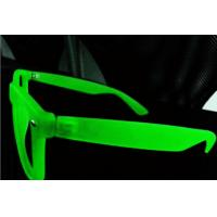 Buy cheap Fluorescence 3d Diffraction Glasses With Pc Clear Diffraction Lens Eco Friendly from wholesalers