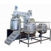 Buy cheap Cream Vacuum Emusification Machine (ZRJ-1500L) product
