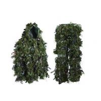Buy cheap Hybrid Woodland Camouflage Ghillie Suit Lightweight Adjustable Leaf Ghillie Suit product