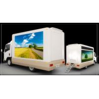 China Full Color Mobile LED Truck Advertising , Truck Mounted LED Screen With Multi Media Control on sale