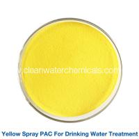 Quality Yellow Polyaluminium Chloride For Drinking Water Treatment for sale