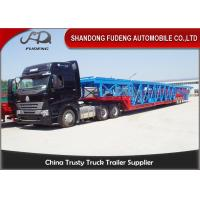 Buy cheap Double Axles Vehicle Transport  Trailer  Wheelbase Dimensions 10 Cars Carry product