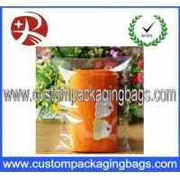 Buy quality Transparent Custom OPP Plastic Towel Packaging Bag With Strong Self Adhesive at wholesale prices