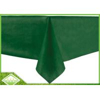 Buy cheap 50GSM PP Spunbond Non Woven Table Covers , Non Woven Disposable Table Cloths product