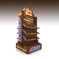 Buy cheap Double Side MDF Display Stands product