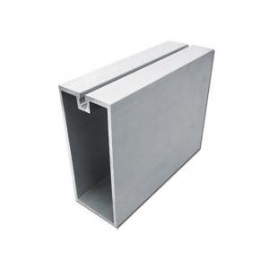 Buy cheap Building Exterior 2.0mm 6063 Aluminum Curtain Wall Profile product