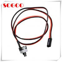 Buy cheap Red Motherboard PC Power Button Cable Adapter With Cord ON / OFF Connector from wholesalers