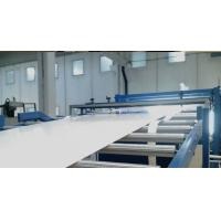 China PVC Wood Plastic Composite Extrusion Line With Emboss Machine on sale