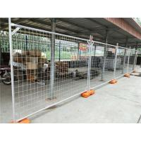 Buy cheap 60x150mm Australian Temporary Fencing Galvanized Portable Building Site Fencing product