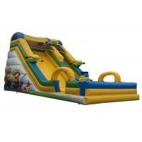 Buy cheap 8x4x6M Commercial Inflatable Slide Fun Popular Convenient Bouncy House product
