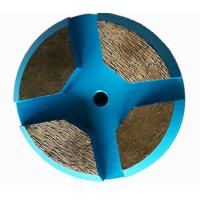 Buy cheap 3 inch Concrete Floor Metal Bond Diamond Grinding Disc for Terrco Machines from wholesalers