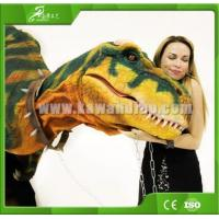 Buy cheap KAWAH Amusement Attractive Adult Lifelike Dinosaur Suit For shopping mall product