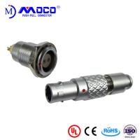 Buy cheap 0B 2 pin male and female circular push pull connector for Infrared Camera product