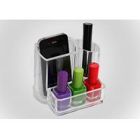 Buy cheap Cosmetics Transparent Nail Polish Holder Portable For Washstand product
