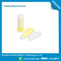 Convenient Disposable Blood Lancet Medical Tool With CE / ISO Certification