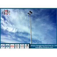 Buy cheap Four Lights Highway Lighting Pole Slip Joint Flange Connected 20W- 1000W Power from wholesalers