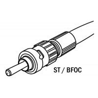 Buy cheap ST-025  ST-10   ST-20 ST (BFOC) patchcord with plastic optical fiber connector product