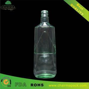 750ml Light Blue Glass Bottle