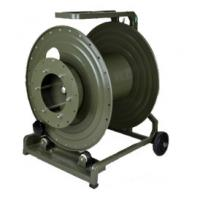 Buy cheap Anti Corrosive Tactical Fiber Optic Cable Reel , Cable Storage Reel With Hole from wholesalers