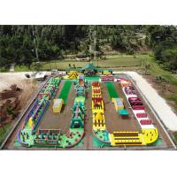 Buy cheap Outdoor Inflatable Fun 5K , Blow Up Bounce House 44m*42m*5m L*W*H Water Proof product