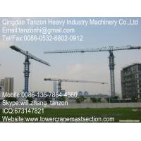Buy quality TCP7013-12 Leg Fixing Type China Topless Tower Crane with 60m Lifting Height at wholesale prices