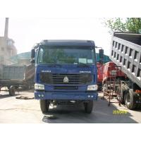 HOWO chinese strong mine dump truck 336hp 6x4 / 8x4 with Q345 Steel cargo body