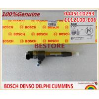 BOSCH genuine and New Common rail Injector 0445110293 / 1112100-E06 for Great Wall Hover