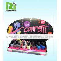 Buy cheap Foldable Custom Nail Polish Cardboard POP Displays For Promotion product