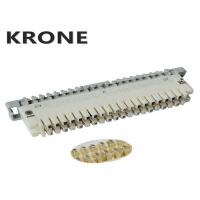Buy cheap Grey Base 10 Pair Krone Module LSA - Profile Disconnection Or Connection product