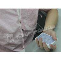 Buy cheap Plastic Casino Games Marked Cheating Poker Cards Shirt Button Camera product