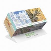 Buy cheap Promotional Duo Cube Calendar Monthly, Cube Measures 5x5x5cm product