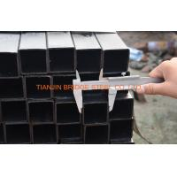 Buy cheap 4 Inch Black Square Steel Pipe , ASTM A500 Square Hollow Section Steel Tube product