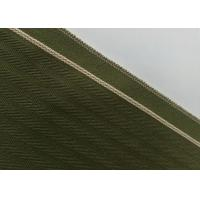 Buy cheap Woven Army Green Herringbone Flannel Fabric , 12.4oz Denim Raw Material For Jeans product