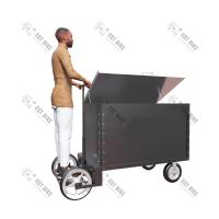 Buy cheap Manual 23Km/H 500KG Stainless Steel Tricycle Cargo Bike product