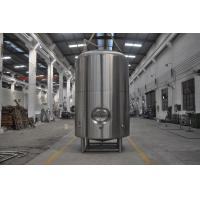 Buy cheap Single Wall Serving Tank , 50HL Stainless Steel Bright Beer Equipment product