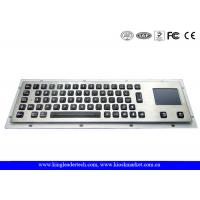 Buy cheap Waterproof Illuminated Metal Keyboard With Touchpad And 64 Led Backlit Keys from wholesalers