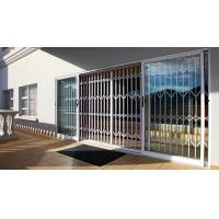 Buy cheap 0.8 - 2.0mm Thickness Aluminium Security Doors With Extrusion Profile White Color from wholesalers