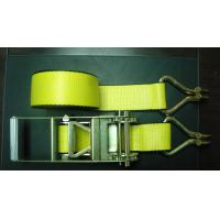Buy cheap 5000 LBS Heavy Duty Trailer Straps 4 Inch 30 Feets Easy To Use With Wire Hook product