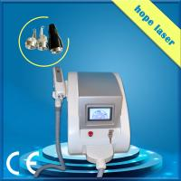 Buy cheap White q - switched nd yag laser machine / laser tattoo removal equipment product